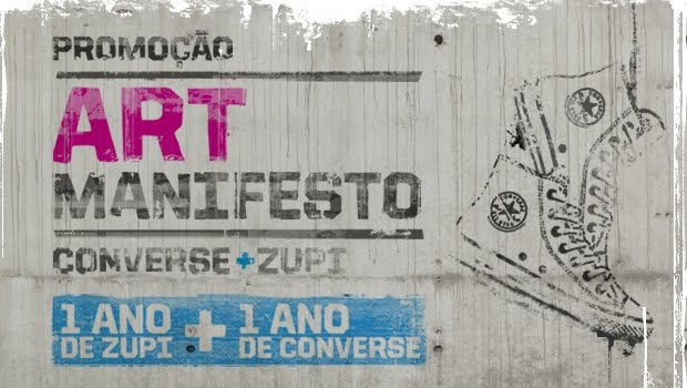 350557 converse arq 1568 85432 Promoção Converse Art Manifesto Zupi