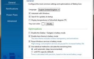 Programa que melhora a autonomia da bateria do seu notebook