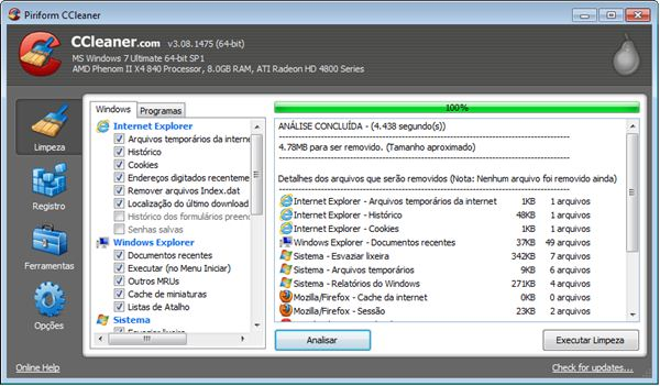 350843 CCleanerPOrtable Carregue no pendrive um programa que limpa o seu PC