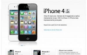 Apple Store venderá iPhone 4S desbloqueado no Brasil
