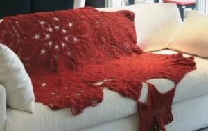 Como usar crochê na decoração