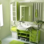 351622 Banheiros Decorados em Verde 150x150 Decoração de banheiros   fotos