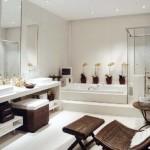 351622 Projeto de Banheiro com Espelhos e Box de Vidro Temperado 600x388 150x150 Decoração de banheiros   fotos