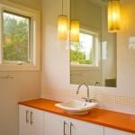 351622 apartmentbanheirolaranja 150x150 Decoração de banheiros   fotos