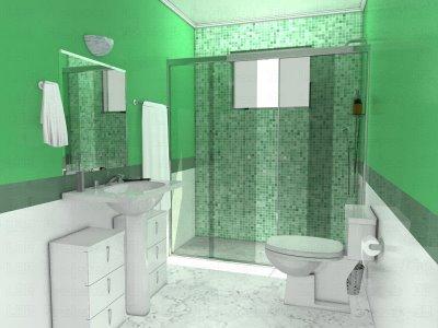 351622 banheiro pequeno 2 Decoração de banheiros   fotos