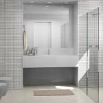 351622 banheiros com pastilha de vidro 150x150 Decoração de banheiros   fotos