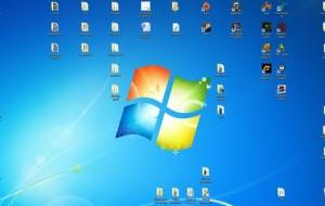 Muitos ícones na Área de trabalho deixa o PC lento?