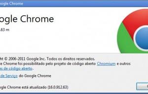 Google Chrome 16, o navegador mais seguro da web