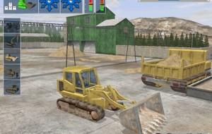 Pilote máquinas e caminhões pesados neste game