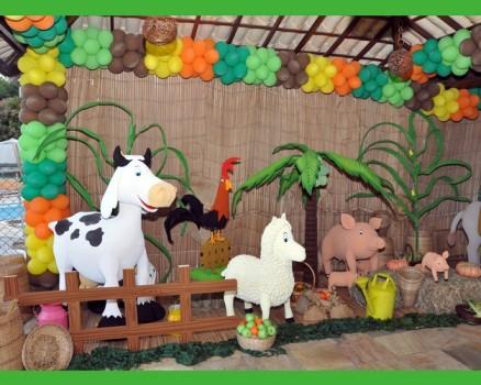 infantil com tema fazendinha decoração 2 150x150 Festa infantil ...