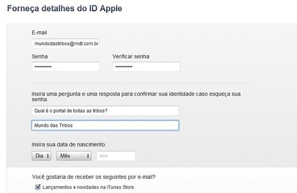 354695 CriarcontaItunesbrim4 Aprenda a criar uma conta na iTunes Store brasileira
