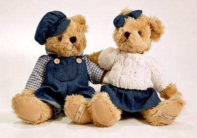 356374 casal urso Bichinhos de pelúcia   25 de março