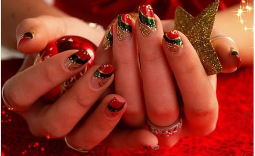 356688 unhas decoradas natal Unhas decoradas para Natal