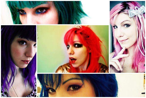 356694 marioon mont Famosas que apostaram nos cabelos coloridos