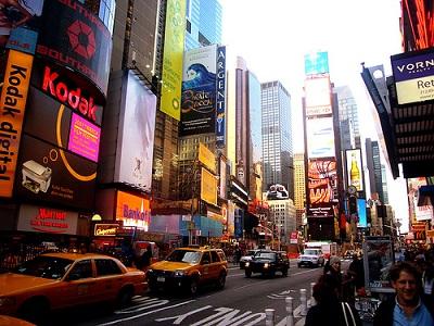 Compras de Natal em Nova York