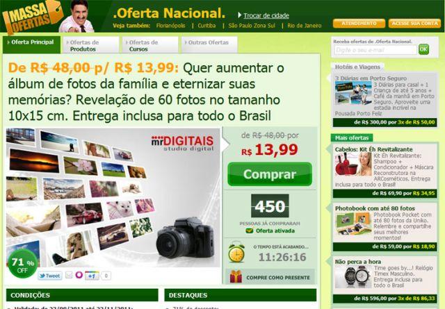 356999 massa oferta site compra coletiva 2 Massa Oferta do dia, site de compras coletivas
