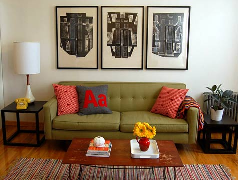357132 decoracao de sala simples 11 Como decorar com um toque artesanal