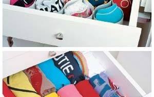 Aprenda a organizar o guarda-roupas