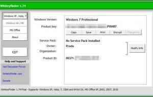 Encontre a chave de ativação do seu Windows