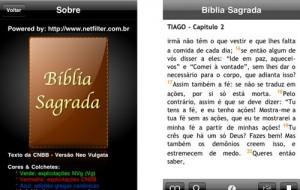 Baixe a Bíblia Sagrada para o seu iPhone