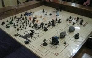 Decoração para salão de jogos