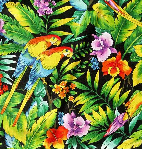 358176 Parrot tropical pattern PICT1433 Estampa Tropical: Tendência para o verão 2012