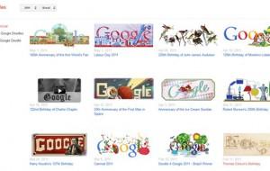 Google cria um site em homenagem aos Doodles