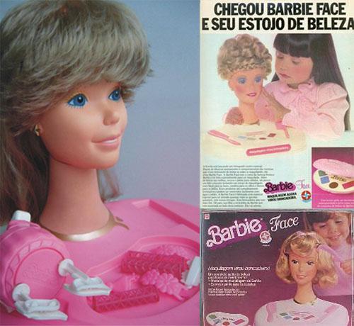 358443 barbieface barbiehair Relembre os brinquedos da década de 80