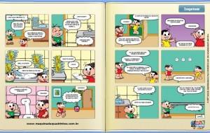 A máquina de Quadrinhos: Turma da Mônica