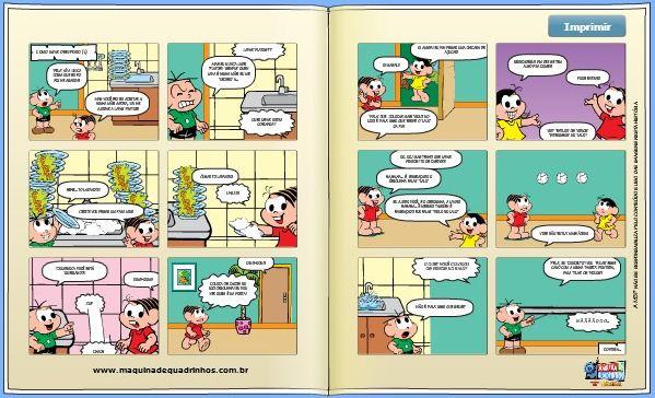 358775 A máquina de Quadrinhos1 A máquina de Quadrinhos: Turma da Mônica