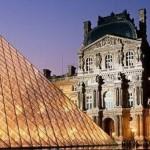 359074 Louvre Aglow Paris France 150x150 Os prédios mais conhecidos do mundo   fotos