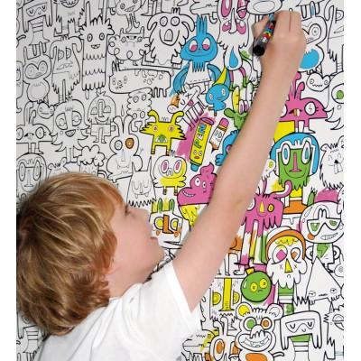 359434 como fazer desenhos na parede da sala 8 Como fazer desenhos na parede da sua sala