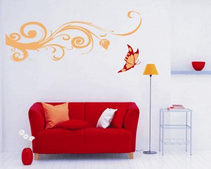359434 como fazer desenhos na parede da sala Como fazer desenhos na parede da sua sala