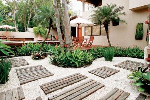Decoração de jardins com pedras 2 Decoração de jardins com pedras