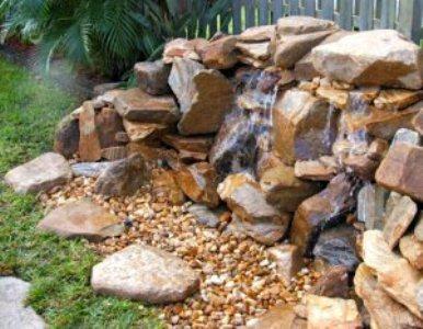 360114 Cascata de pedras 3 Cascatas de pedras na decoração