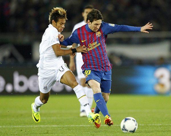 360344 Messi Messi diz que Neymar seria bem vindo ao Barcelona