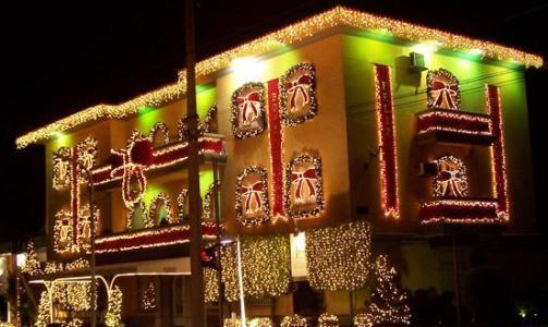 360568 Como decorar sacada para o Natal 2 Como decorar sacada para o Natal