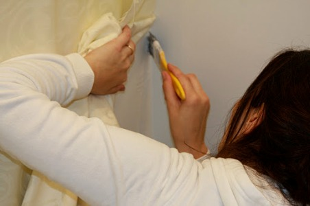 361347 Como decorar paredes com tecidos 2  Tecidos para decorar paredes: como aplicar