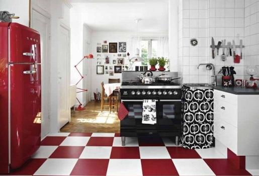 361381 Cozinha em estilo retrô como decorar Cozinha em estilo retrô   como decorar