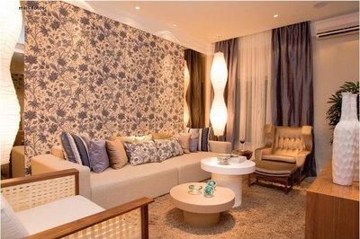 361549 decoracao de paredes com tecidos Decoração de paredes com tecidos