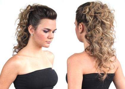 361809 03 Penteados simples para cabelos cacheados   sugestões