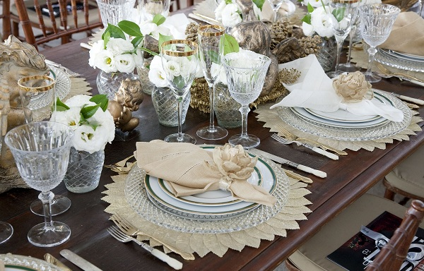 362308 decoracao da mesa ceia de natal 1 Aprenda a enfeitar sua mesa para o Natal