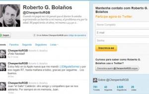 O ator de Chaves possui 2 milhões de seguidores no Twitter