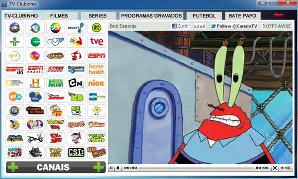 364039 TVclubinhoim2 Assista a dezenas de canais fechados no seu PC de graça