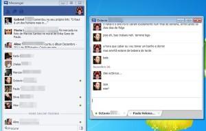 O Facebook lançou um 'Messenger' para o desktop