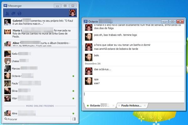 364052 FacebookMessenger O Facebook lançou um 'Messenger' para o desktop