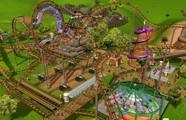 364071 RCTycoonim1 Crie seu próprio parque de diversão com este game