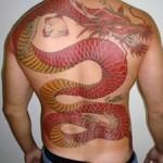 364714 Dragão nas costas 150x150 Tatuagens masculinas   fotos