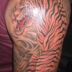 364714 Tigre 150x150 Tatuagens masculinas   fotos