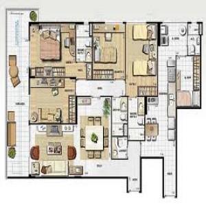 Interiores - Banheiro - Projetos de Casas, Plantas de